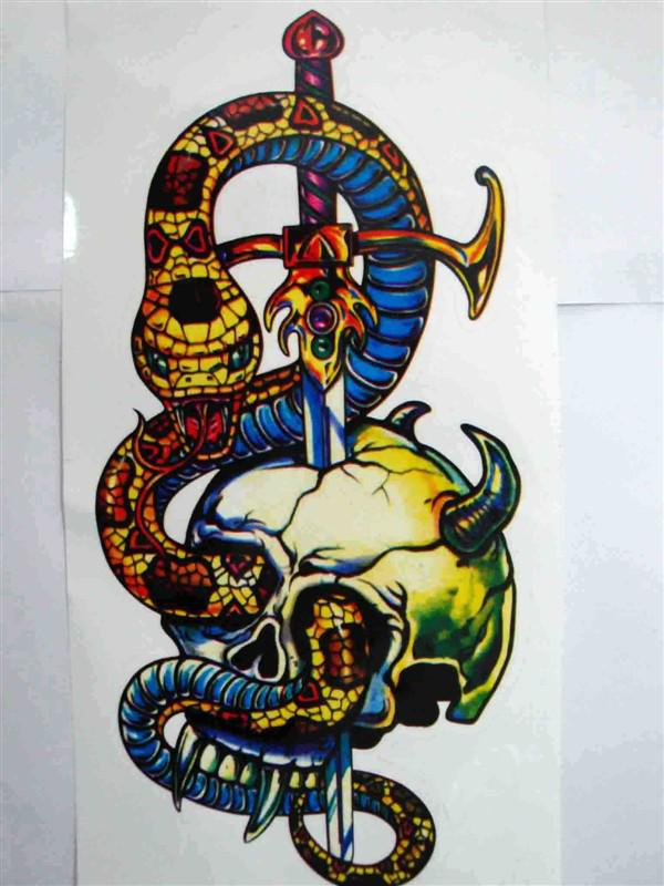 Horrific Snake Decal For Car Motorcycle Cm Waterproof And Uv - Custom car decals online   how to personalize