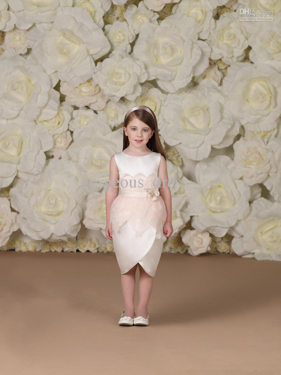 New Arrival Cute Angel Flower Girl Dresses Unique Design!jewel ...