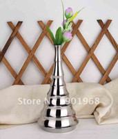 Wholesale 2pcs stainless steel flower pot flower vase jardiniere