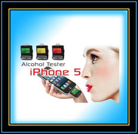 Wholesale Digital LCD Breath Alcohol Tester With Light Breathalyzer For Ipod Touch5 Iphone G Ipad amp mini X5