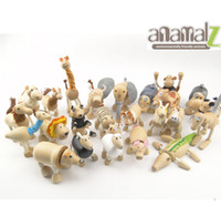 Wholesale Maple animal Australia Anamalz organic maple wooden animal dolls farm educational toys wildlife