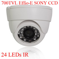 Wholesale High Resolution TVL Sony Effio CCD IR Security Indoor CCTV Camera