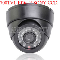 Wholesale 700TVL Sony Effio CCD IR Security Indoor CCTV Camera Wide Angle mm Lens