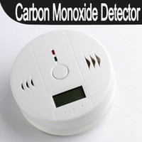 Wholesale New CO Carbon Monoxide Alarm Poisoning Smoke Gas Sensor Warning Detector Tester LCD