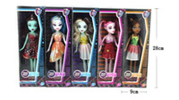 Wholesale promotion Monster High Dolls models Christmas Gifts for the Girls