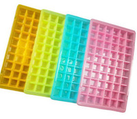 Wholesale Hot Mini Ice Cube Trays Each Tray Makes Square Cubes Home Bar Drinks