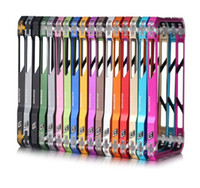 Wholesale Sector Aluminium Bumper Metal Case Frame for iPhone5 G in retail box