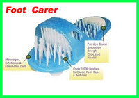 Wholesale Best price New Easyfeet Easy Feet Foot Scrubber Brush Massager Clean Bathroom free ship