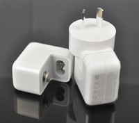 Wholesale 50pcs W A Plug USB Wall Charger Power AU US EU UK Adapter for iPad mini iphone s