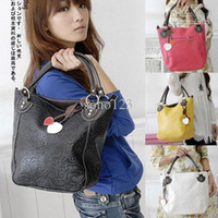 Wholesale new fashion women bucket big shoulder bag handbag colors
