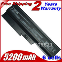 Wholesale 5200mah cells Replacement Laptop Battery For IBM ThinkPad R60 R60e T60 T60p Lenovo ThinkPad R500 T