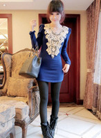 Wholesale 2013 women Knit unlined upper garment Delicate disc flower cultivate one s morality knitting blouse