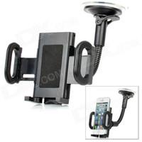 Wholesale LSON I Adjustable Car Mount Holder for Cell Phone Black
