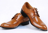 Lace-Up Men  Men's Shoes Men's Dress popular men's shoes charm chalaza cowhide business being installed leather