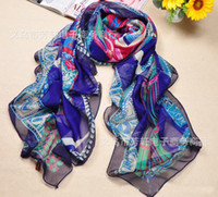 Wholesale 10 Retro Lady s Scarfs Scarf Chain Printed Square Scarves Special Wrap cm Color