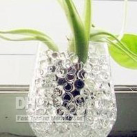 ball mud - 30 bag Colorful Magic Nutrient Moisturizing Crystal Water Jelly Mud Soil Beads Balls Vase Decorator bag H101