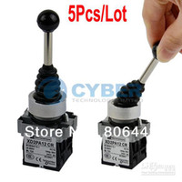 Wholesale 5Pcs Position Joy Stick Wobble Switch Rocker Two Industrial Grade Replaces Telemecanique Free
