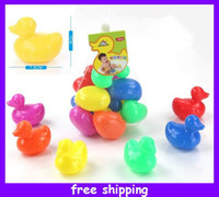 Wholesale Bathroom Baby Kits Duck Bath Gift Toy Swimming Ducks for Baby Kids Children