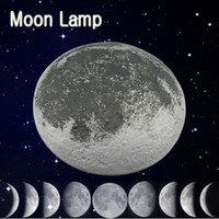 Wholesale Remote Control LED Wall Night Light Moonlight Healing Moon Lamp Bulb Kids