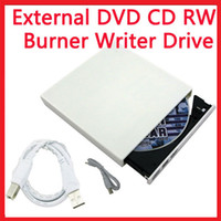 Wholesale External USB DVD CD RW Dual Layer Drive Writer Burner Player for ALL PC MAC