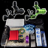 tattoo kits - Beginner Tattoo Kit Dragonfly Machine Gun Power Supply Foot Pedal Needle Grip Tip K75