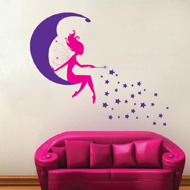 Girl room wall decor 50x70cm wall decals for the home wall decals home