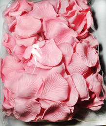 2000pcs Light Pink silk rose petal petals wedding favors party decoration 11colors