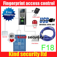 Wholesale ZKsoftware F18 TCP IP and USB HOT style Time Attendance time clock and Access Control System