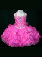 Wholesale 2013 dhgate Flower Girl dresses Two Lace Up Back Baby Girls Pageant Dress By Little Rosie SR242