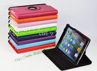 Smart Cover/Screen Cover 7.9'' For Apple Cheap 360 Degree Rotating leather Cases for iPad mini Leather case for ipad mini Free Shipping