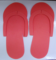Wholesale HOT Disposable Slipper EVA Foam Salon Spa Slipper Disposable Pedicure thong Slippers Beauty Slippe