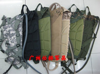 Wholesale MOLLE structure Hump Hydration pack hiking water bag pack shoulder bag riding with L Hydration