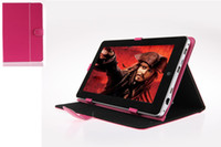 Wholesale US Stock Hot Selling Inch Leather Stand Cover Case For quot Tablet PC quot quot