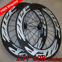 Wholesale ZIPP mm Firecrest clincher road racing bicycle wheels carbon bike wheelset