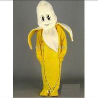 banana splits - 2013 Split the Banana Christmas Adult Size Mascot Catoon Costumes EPE Cute Popular Brand