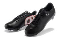 achat en gros de gs taquets-2013 Chaussures de soccer CR SE Chaussures de football Chaussures de soccer Real Fibre de carbone Toutes les tailles