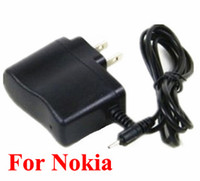 For Nokia Direct Chargers  500pcs For Nokia phone E50 E51 E61 E62 E65 E66 E75 E90 N93s N95 Power Supply 5V 500mA Adapter 2.5mm