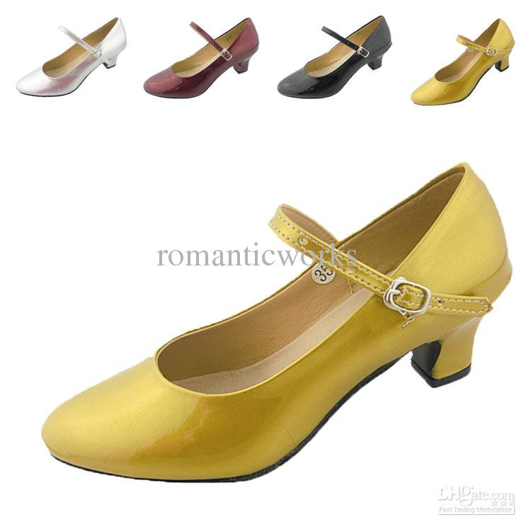Wholesale - Professional women's belt dance shoes ballroom dancing