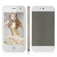 Wholesale New Goophone I5 H5 WIFI TV inch Unlocked S G th i9 Dual SIM Quad Band Cheap Mobile Cell Phone