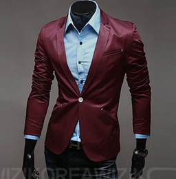 Wholesale new business Coat Jacket Fashion Silm Fit Stylish Mens V Neck Blazer Suit CZJ135G