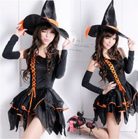 Wholesale costumes sexy witch cosplay women halloween costumes