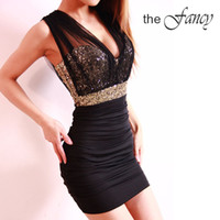 Wholesale Sexy Dress short tight prom mini luxury bodycon fit satin women clothes fashion E