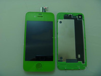 Wholesale For iPhone S Color LCD Screen Digitizer Back Cover Housing replacement part CDMA GSM