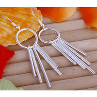 Wholesale Cheap fashion silver plated earring jewelry E026