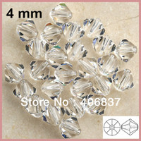Wholesale Chinese Top Quality mm Crystal Clear Clear AB Crystal Bicone Beads