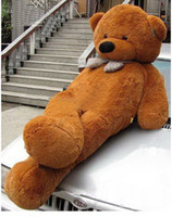 7.2 inch - GIANT HUGE inches cm BROWN TEDDY BEAR STUFFED PLUSH TOY