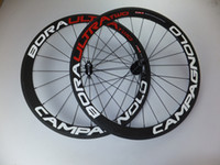 Wholesale Campagnolo Bora Ultra Two mm clincher bike wheelset c carbon fiber road racing bicycle wheels