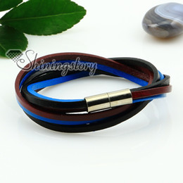 two layer bracelets rainbow bracelets leather wristbands for boys and girls fashion jewelry