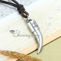 Men's Cheap Fashion Jewelry Tooth tusk mens gothic