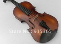 Wholesale High quality Adults and children available acoustic violin with bow rosin tuner and case on same photo